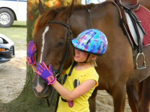 Riding lessons are a fun, affordable way for kids to be active outside!