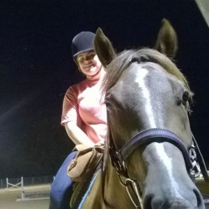 Turner during a night ride